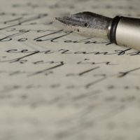 ćwiczenie pisarskie